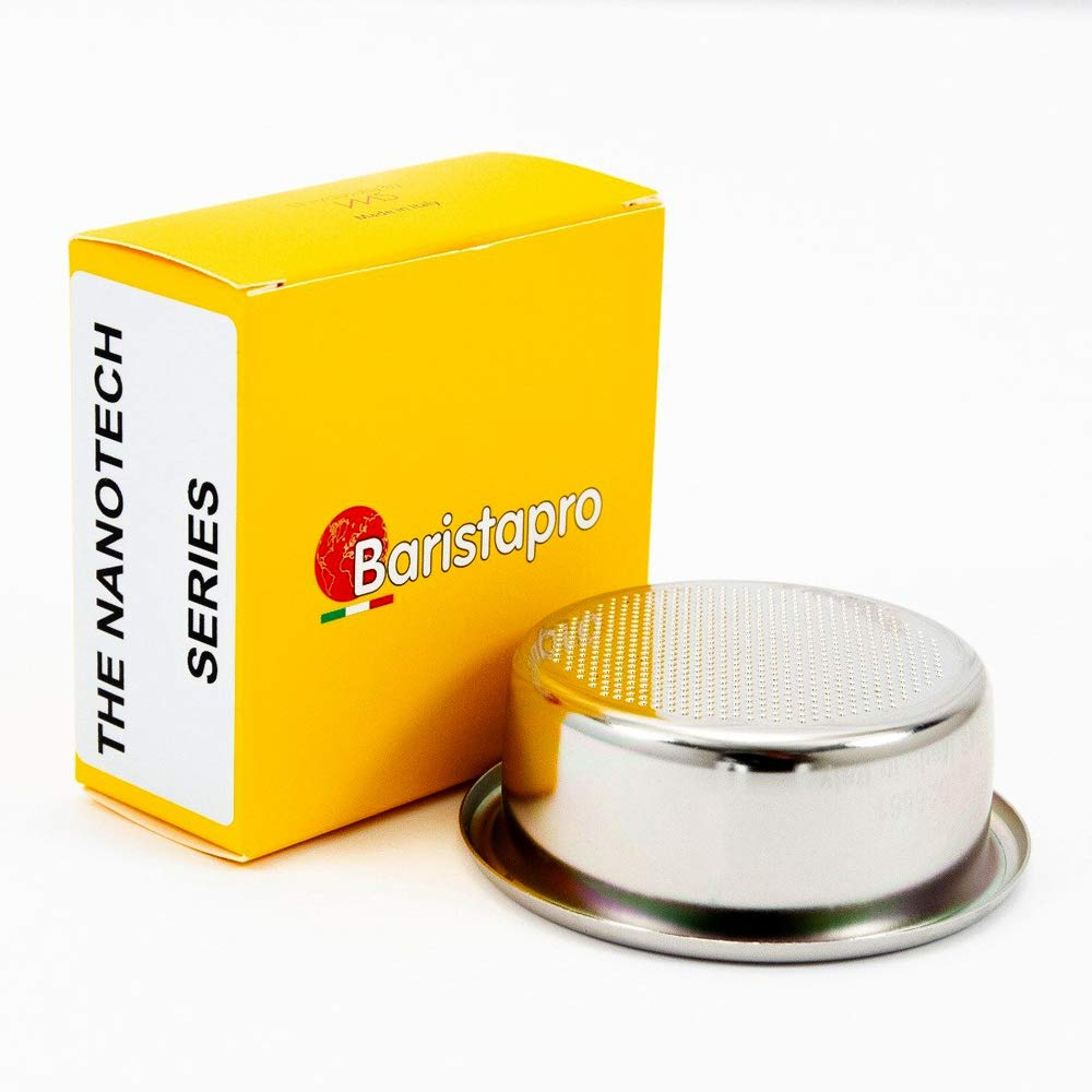 IMS Baristapro Nanotech Precision Ridgeless Double Portafilter Basket - 20 gram