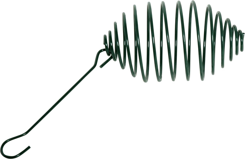 dobar 11050Doublure Spirale en Métal Revêtu pulvérisation, Support de Graisse à Suspendre, Ø 7,5x 26,5cm, Vert Support de Graisse à Suspendre Ø 7 5x 26 5cm