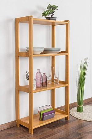 Estantería Pino maciza madera de aliso Colores junco 56 C ...