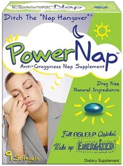 PowerNap Anti-Grogginess Nap Supplement, 9 Count