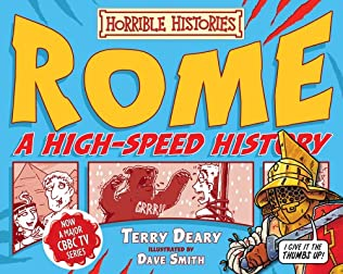 book cover of Rome - A High-Speed History
