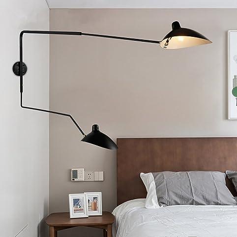 Haixiang 2 rotating arms lamp shade iron rocker arm duckbill wall haixiang 2 rotating arms lamp shade iron rocker arm duckbill wall lamp e14 aloadofball Images