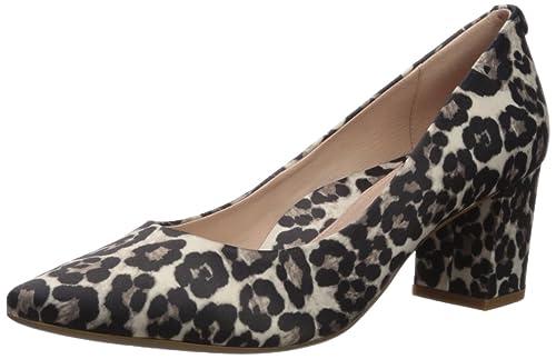 bfff6ebd2bbe4 Taryn Rose Women s Madline Printed Leopard Pump  Amazon.co.uk  Shoes ...