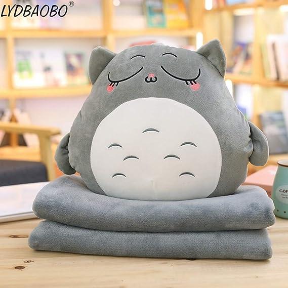 Amazon.com: EXTOY Lydbaobo - Almohada de peluche con manta ...