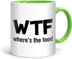 FMstyles - WTF Where's the food Mug - FMS41-LG