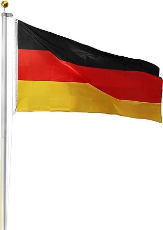 Normani Alu Fahnenstange Bayern Oder Deutschland Flagge Fahne Zur Fussball Wm Em