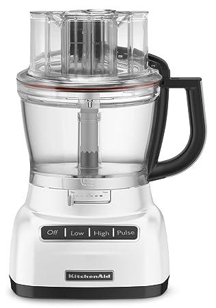 amazon com kitchenaid kfp1333wh 13 cup food processor with rh amazon com