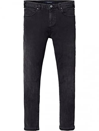Scotch & Soda Herren Jeans Dart - Skinny Fit - Schwarz - Best of Black,