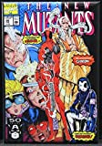 The New Mutants #98 Comic Book Cover Refrigerator