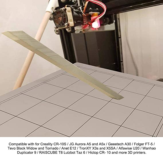 Wendry Plataforma de Cama Caliente de Impresora 3D, Superficie de ...