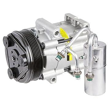 Compresor de CA de alta calidad y embrague con aire acondicionado para Ford Windstar - BuyAutoParts 60-88742R2 nuevo: Amazon.es: Coche y moto