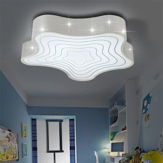 Ceiling Lights & Fans Led Starfish Childrens Room Lighting Child Ceiling Lamp Baby Ceiling Lamps And Boys And Girls Bedroom Lamps Latest Fashion