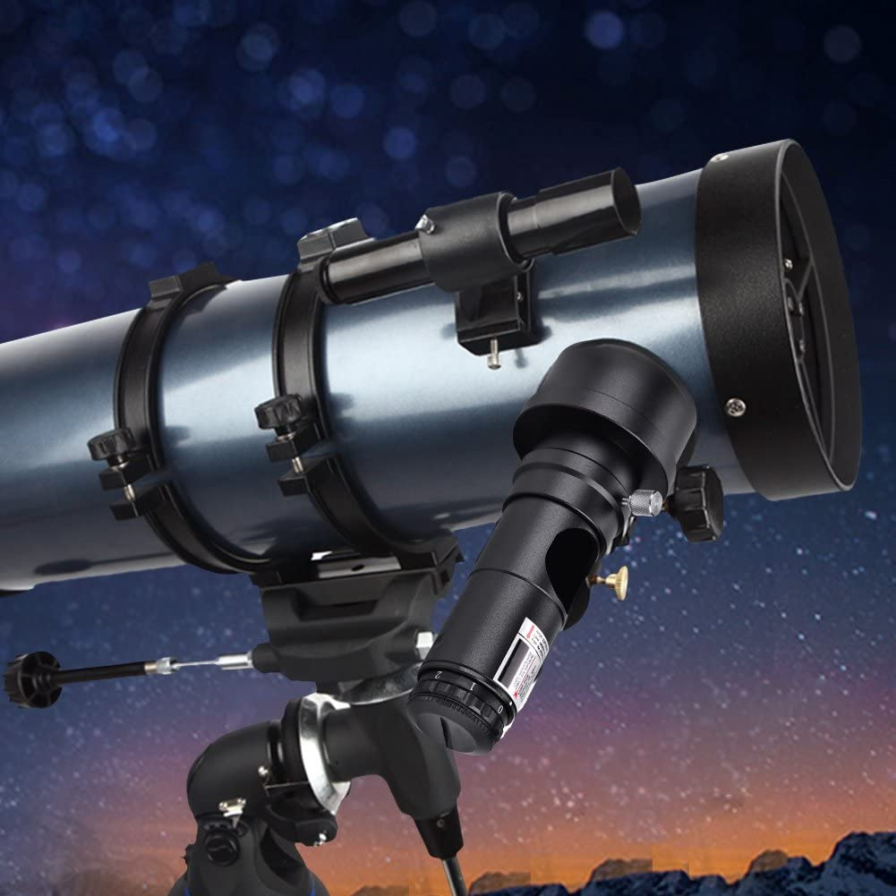 V BESTLIFE Collimator for Newtonian Marca Reflector Telescope Alignment 7 Bright Levels Lens with 2 Adapter