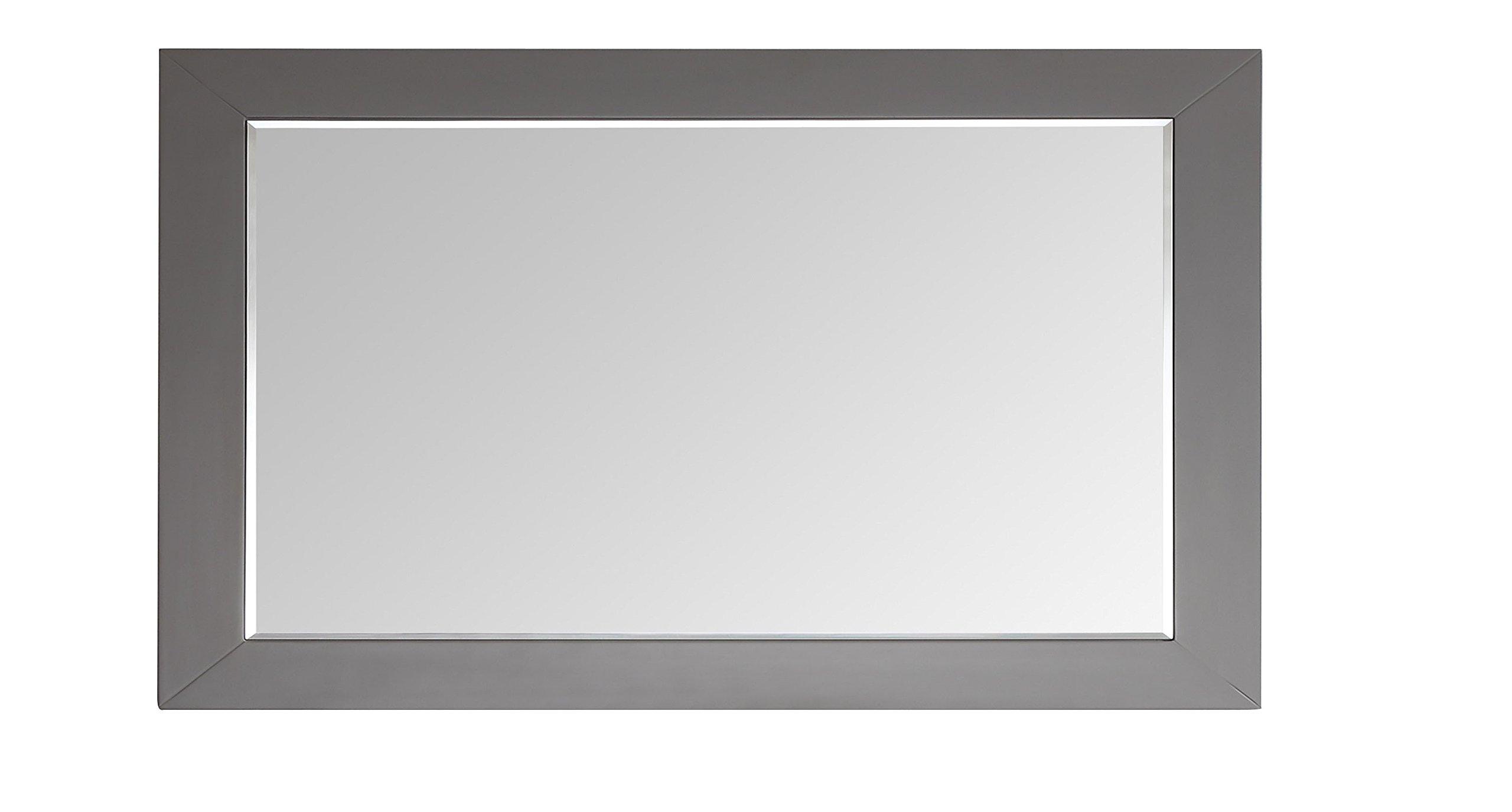 Eviva EVMR412-60 x 30-GR Aberdeen 60'' Framed Bathroom Mirror Combination, Grey by Eviva