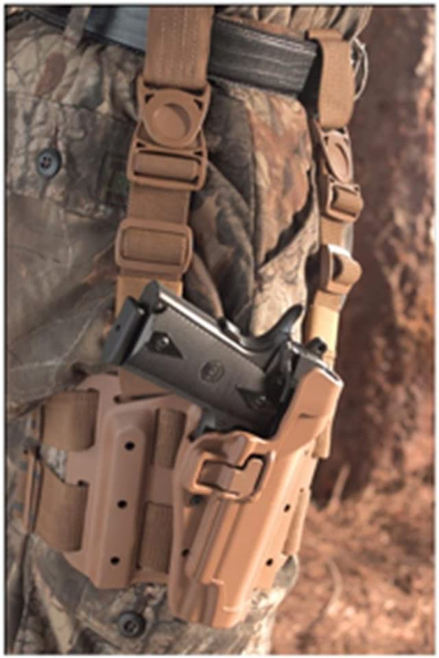 Blackhawk « Tactical Serpa Holster Colt 1911 Coyote Tan derecha ...
