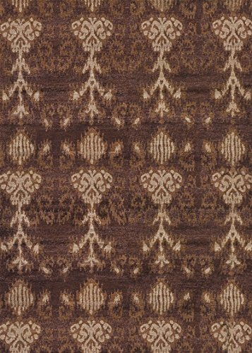 Couristan SAGANO BELACHAN Rug BELACHAN/Chocolate/TAN/8' x 11'/Rectangle ()