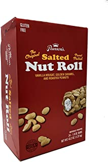 product image for Pearson's Salted Nut Roll | Loaded With Crunchy Roasted Peanuts, Golden Caramel, and Creamy Nougat | Pack of 24 - 1.8 oz. Candy Bars