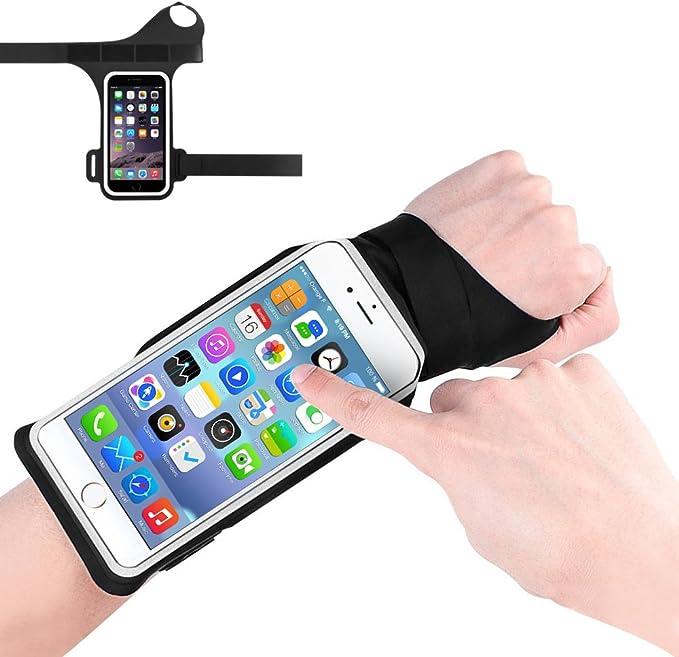 Brassard Sportif Portable Running Sport Compatible avec Smartphones jusqu/à 6,7 /Écran Housse Bande Sportive Respirante Poche pour cl/és C/âbles /Écouteurs Cartes