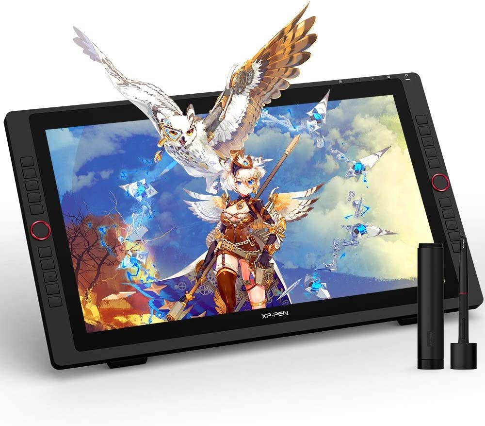 XP-PEN Artist 22R Pro - Tablet con pantalla profesional de 21,5 pulgadas, monitor de dibujo con interfaz USB-C – Ideal herramienta para arte digital