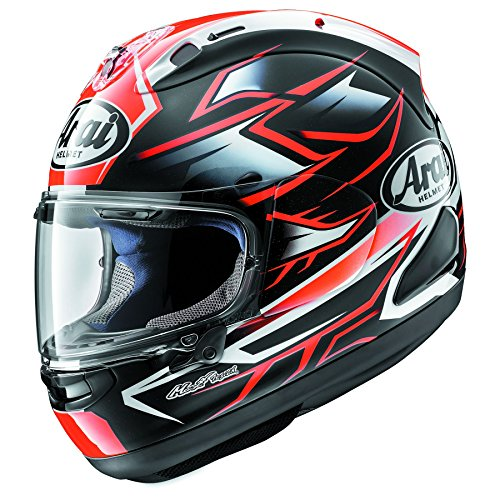(Arai Corsair-X Ghost Red Motorcycle Helmet MD)