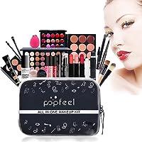 All in One Makeup Kit Makeup Kit for Women Full Kit Multipurpose Makeup Kit-Makeup Brush Set,Eyeshadow Palette,Lip Gloss…