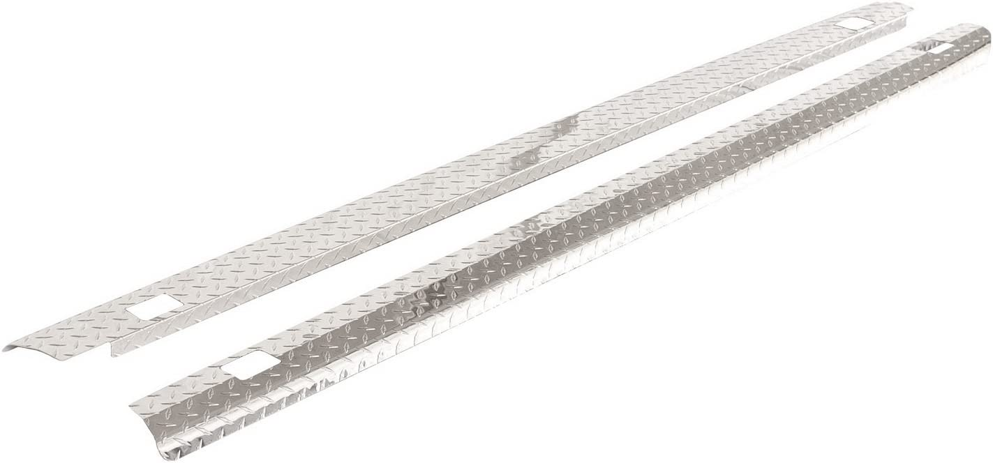 ICI SPBR46 Stainless Steel Truck Bed Rail Cap with Holes