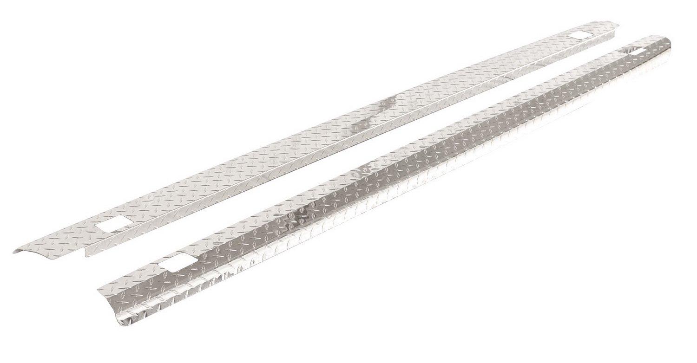 ICI SPBR04TB Treadbright Aluminum Truck Bed Rail Cap with Holes