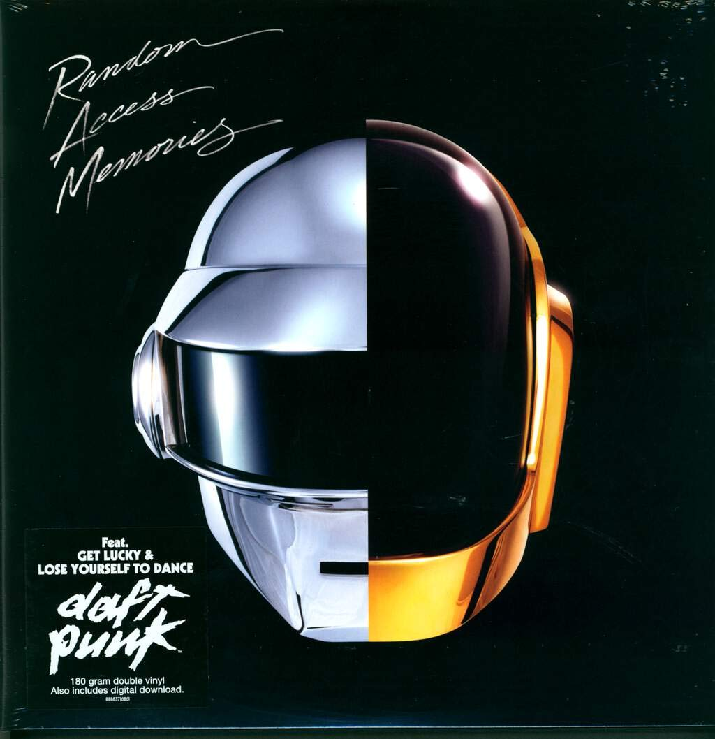 DAFT PUNK - RANDOM ACCESS MEMORIES : 2LP SET: DAFT PUNK: Amazon.es ...