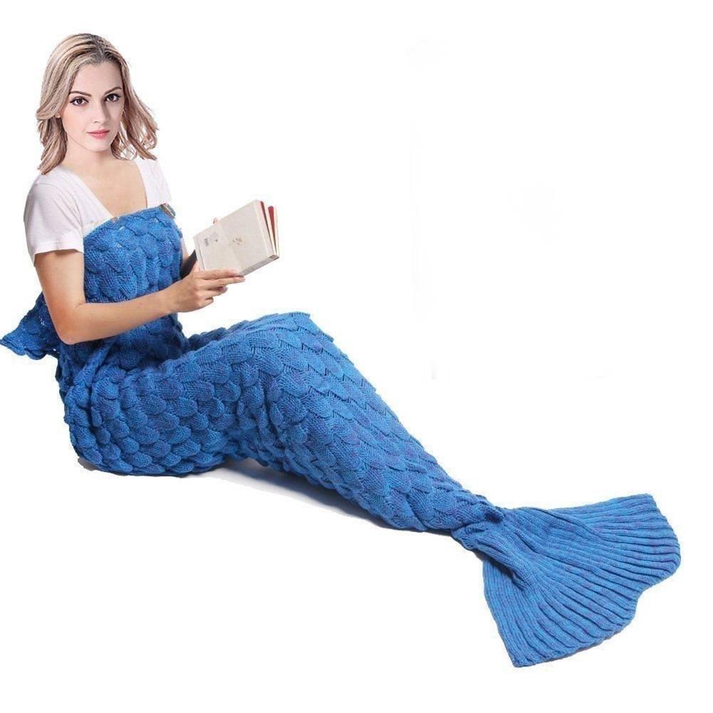 Manta Cola de sirena para niños, adolescentes o adultos, hecho a ...