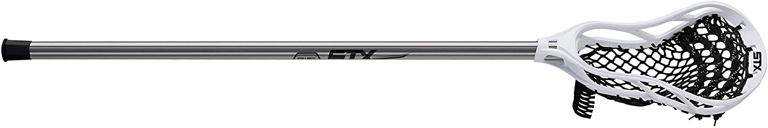 STX Lacrosse Stallion 50 Youth Lacrosse Complete Stick, Platinum/White : Sports & Outdoors