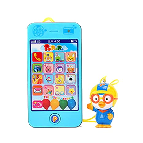 Amazon Com Pororo Smartphone Toy Baby Mobiles Toy Cell Phone Toys