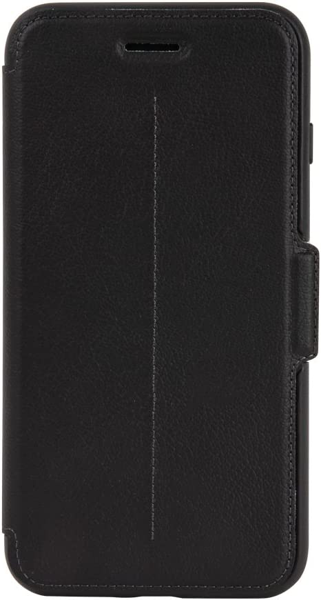 OtterBox STRADA SERIES Case for iPhone 8 PLUS & iPhone 7 PLUS (ONLY) - Retail Packaging - SHADOW (BLACK/PEWTER)