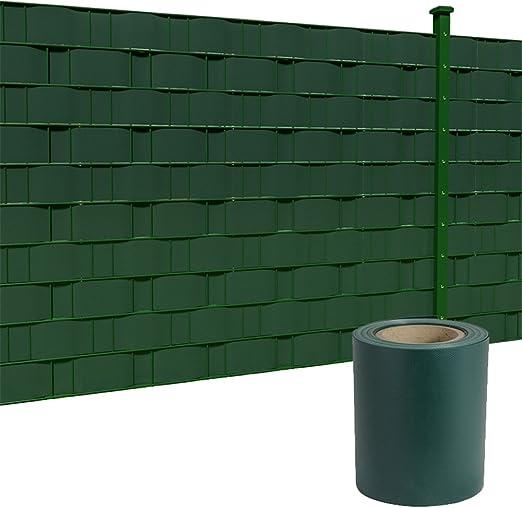 HENGMEI Privacidad PVC Privacidad Rayas con Valla Pantalla Fijación Clipse Wind – Valla Valla de jardín (Opaca para Vallas para Valla de jardín, balcón, 260m: Amazon.es: Jardín