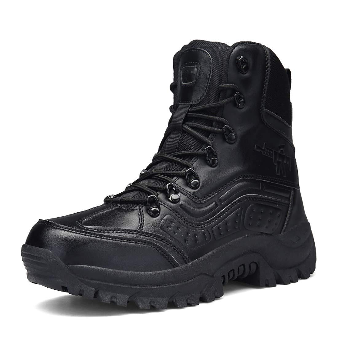 FKMI Steifel Herren Wanderschuhe Damen Trekkingschuhe Armee Combat Tactical Stiefel Einsatzstiefel Kampfstiefel