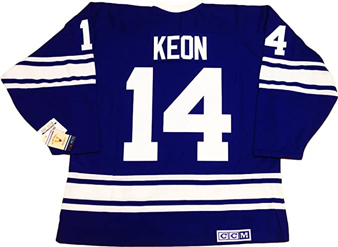 pretty nice cea34 f0cca Dave Keon Toronto Maple Leafs vintage jersey CCM