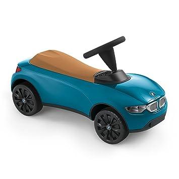 Bmw Baby Racer Iii Voiture De Course Pour Enfant Turquoise Beige