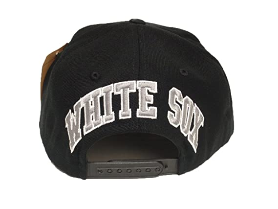 5670b8b25e957 2 Pac Chicago White Sox Snapback Cap American Needle Hat MLB Baseball   Amazon.ca  Clothing   Accessories