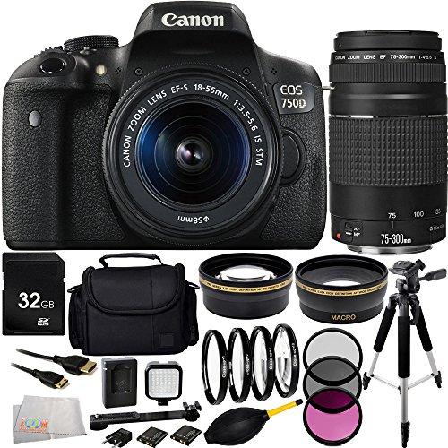canon-eos-rebel-t6i-750d-dslr-camera-with-ef-s-18-55mm-f-35-56-is-stm-lens-ef-75-300mm-f-4-56-iii-le