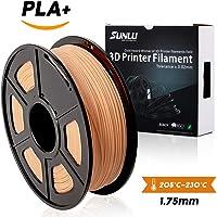 SUNLU 3D Printer Filament PLA Plus Skin, PLA Plus Filament 1.75 mm,Low Odor Dimensional Accuracy +/- 0.02 mm, 3D Printing Filament,2.2 LBS (1KG) Spool for 3D Printers & 3D Pens,Skin
