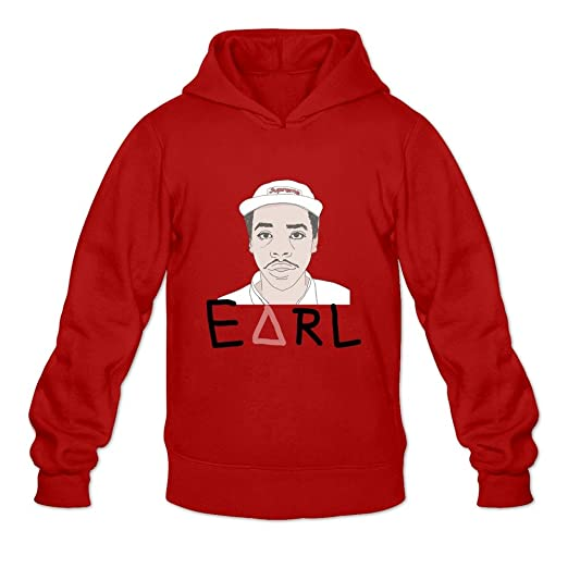 Amazoncom Tbtj Mens Earl Sweatshirt Rapper Heavy Blend Hooded