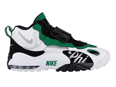 timeless design 16b31 034a8 Nike Men s Air Max Speed Turf - Philadelphia White Metallic Silver Pine  Green