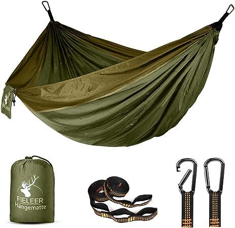 TEMPSA 275x140cm Hamac Ultra léger Parachute avec Tente Anti