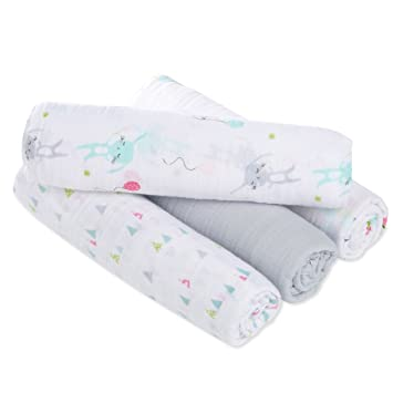 Aden And Anais Swaddle Blankets Classy Amazon Aden By Aden Anais Swaddle Baby Blanket 60% Cotton