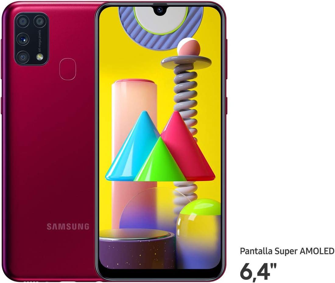 Samsung Galaxy M31 - Smartphone Dual SIM, Pantalla de 6,4