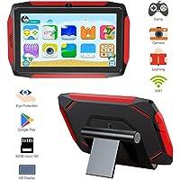 Kid Tablet, Kids Edition Tablet 7 Pulgadas Android 9.0, ROM de 16 GB, Control Parental, iWawa preinstalado, 40+ Aplicaciones de Aprendizaje, con Funda a Prueba de niños y Tarjeta Micro SD de 32 GB