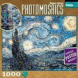 Buffalo Games Photomosaic: Starry Night