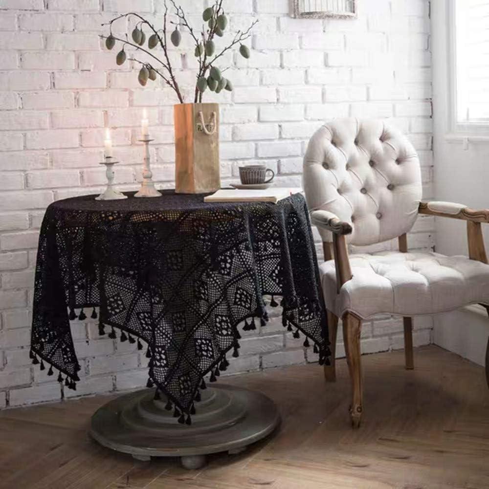 Accessoires de couture faits /à la main beige Pour rideaux et v/êtements 18m Ruban de tissu brod/é /à franges en coton naturel
