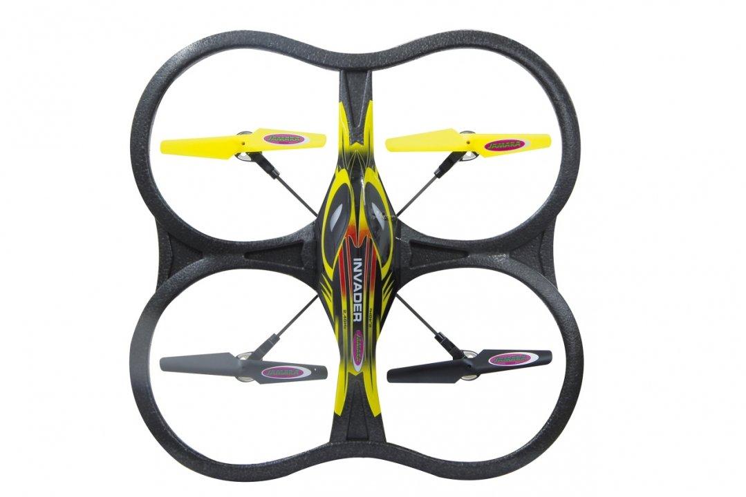 Jamara Quadrocopter Invader Remote controlled quadcopter - juguetes de control remoto (Ión de litio, 650 mAh, 600 mm, 95 mm, 278 g)
