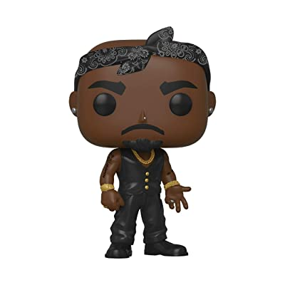 Funko POP! Rocks: Tupac - Vest with Bandana, Multicolour: Toys & Games
