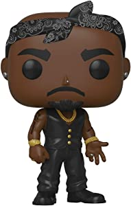 Funko POP! Rocks: Tupac - Vest with Bandana, Multicolour